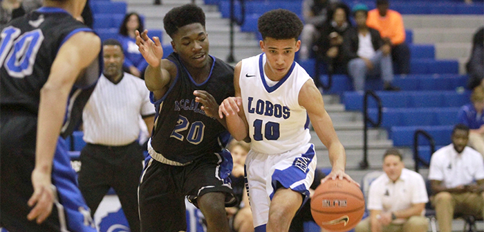 Lobos knock out Knights 54-44