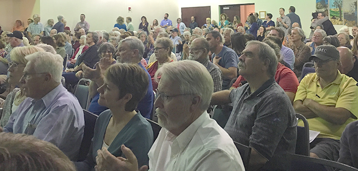 Citizens group takes stance on wastewater