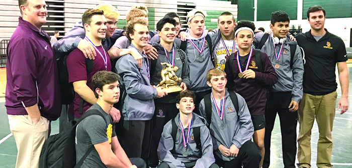 Tigers grapple for district championship