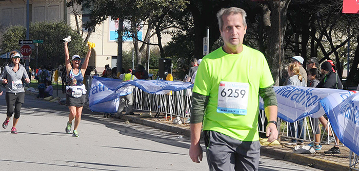 Running for rehab: Kyle man competes in half-marathon after four heart attacks