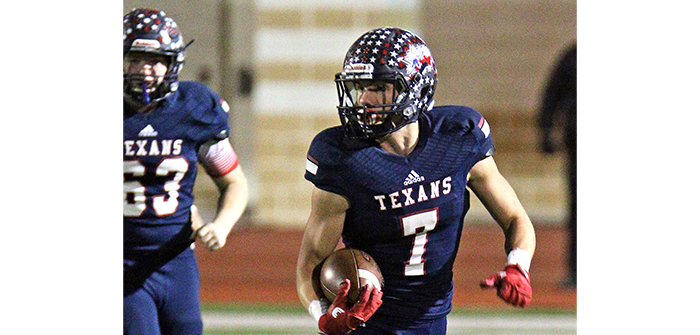 Colby Crowder, Texan football