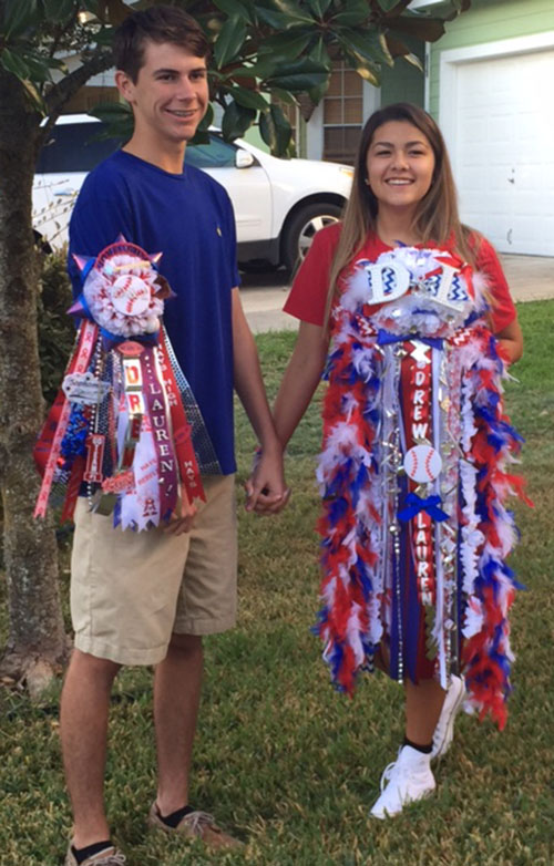 School Spirit Isn T Limited To Female Students A Garter Worn Around The Arm Can Be Just As Eye Catching Courtesy Photo