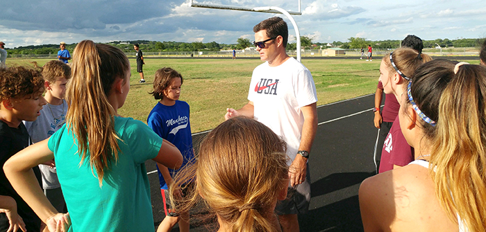 Local track team prepares young athletes for success