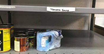 Community restocks empty shelves at Hays County Food Bank