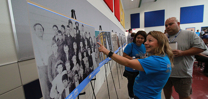 New Uhland elementary school spurs memories of long ago