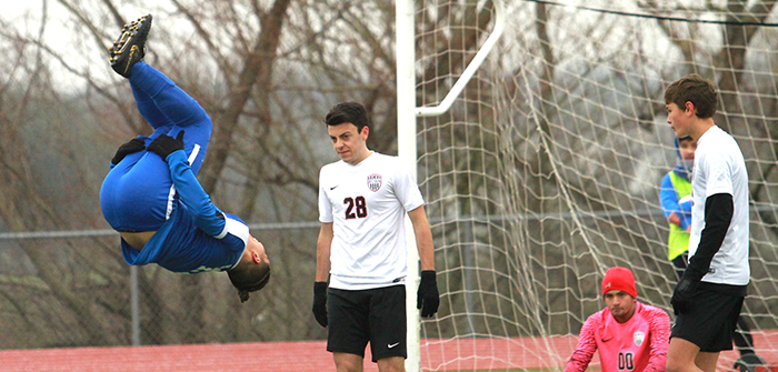Lehman blanks Bowie, flips into first in district