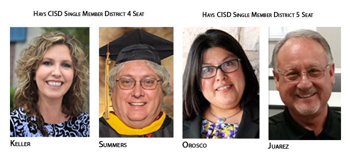 Four file for May HCISD trustee election