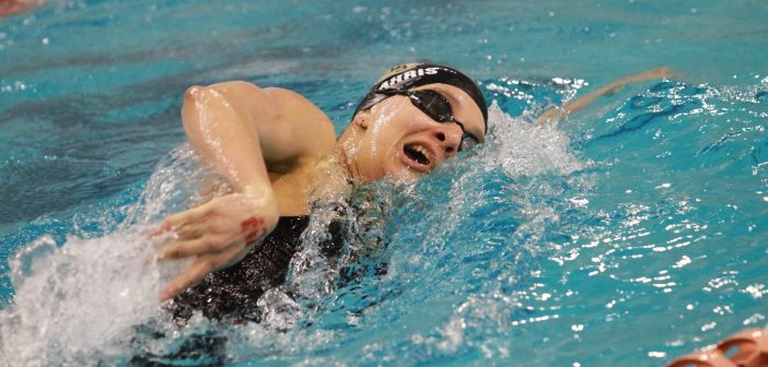 Tiger, Texan swimmers hit state meet