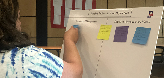 Finding the right fit: Lehman High stakeholders offer input on next principal hire
