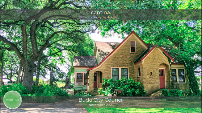 Buda City Council Approves Active Adult Residential Units Downtown